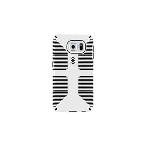 Speck CandyShell Grip Case for Samsung Galaxy S6 - White/Black - Equipment Blowouts Inc.