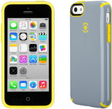 Speck Candyshell Case for iPhone 5C - Nickel Grey/Caution Yellow - Equipment Blowouts Inc.