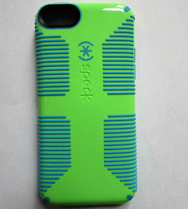 Speck Candyshell Grip Case for iPhone 5C - Lime Green/Blue - Equipment Blowouts Inc.