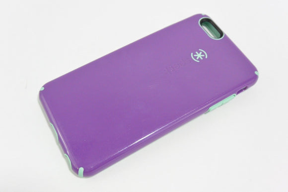 Speck Candyshell Case for iPhone 6 Plus - Acai Purple/Aloe Green - Equipment Blowouts Inc.