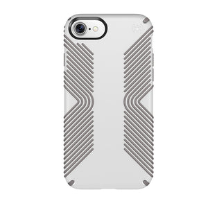 Speck Products Presidio Grip Cell Phone Case for iPhone 7/6S/6 PLUS- White/Ash Grey - Equipment Blowouts Inc. Established 2005.