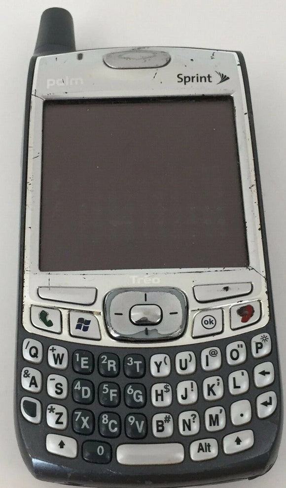 Palm Treo 700wx - Silver Gray Smartphone sprint