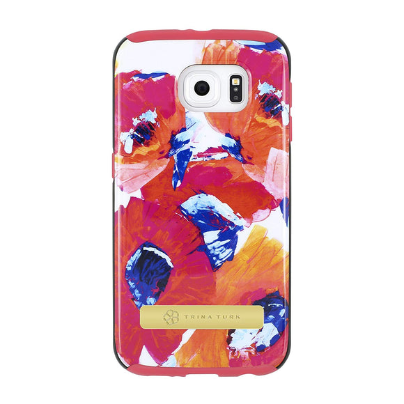 Trina Turk Dual Layer Case for Samsung Galaxy S6 - Poppy - Equipment Blowouts Inc.