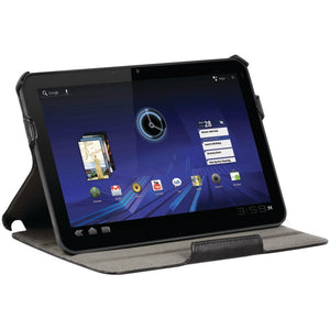 Xentris Folio with Stand for Motorola Xoom - Black - Equipment Blowouts Inc.