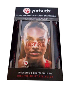 Yurbuds Sport Armband Strap SweatProof for iPhone SE/ 5/5S/ iPOD -Black - Equipment Blowouts Inc.