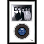 The Rolling Stones Framed & Mounted Photo & Original Vinyl Single Record Display