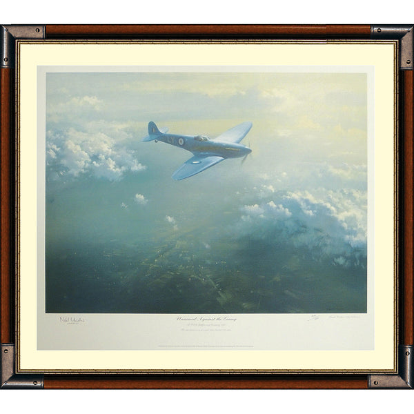Unarmed Against The Enemy Framed & Mounted Print Signed by Sir Neil Wheeler