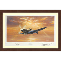 Spitfire Legend  Framed & Mounted Art Print Limited Edition