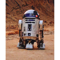 Kenny Baker as R2D2 Mounted Colour Photo Personally Signed