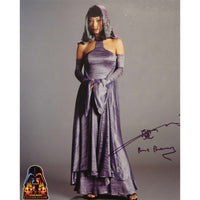 Bai Ling in Star Wars Mounted Colour Photo Personally Signed