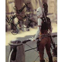 Michonne Bourriague as Aura Sing Mounted Photo Personally Signed