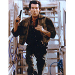 Pierce Brosnan as James Bond Mounted Photo Personally Signed