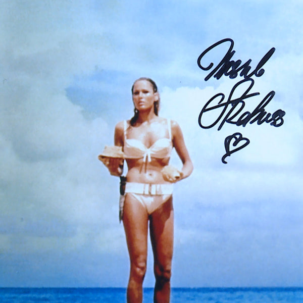 Ursulla Andress in Dr No Mounted Photo Personally Signed