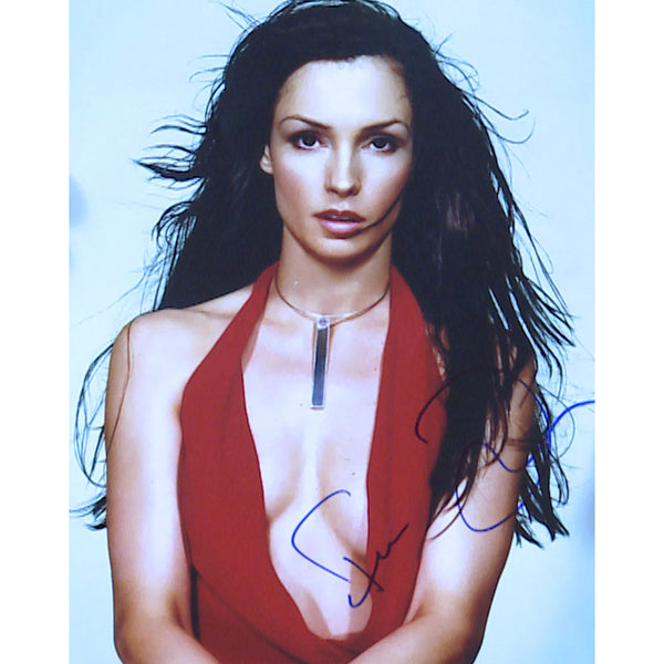 Famke Janssen Mounted Photo Personally Signed