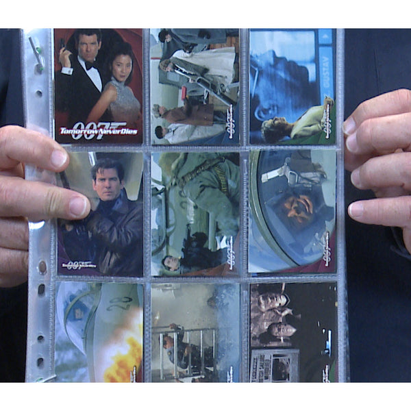 James Bond Tomorrow Never Dies Trading Cards Set of 90 Collectors Photo Cards