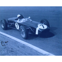 Sir Stirling Moss Mounted Photo Personally Signed
