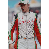 Nico Hulkenberg Mounted Colour Photo Personally Signed