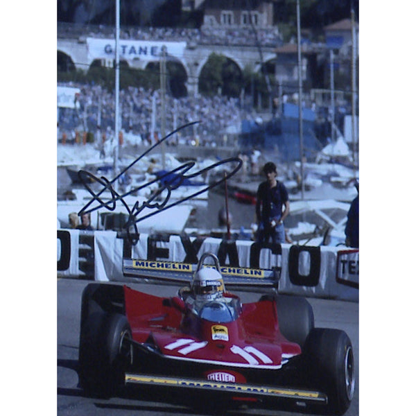 Jody Schecktor Mounted Colour Photo Personally Signed