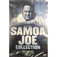 Samoa Joe - The Essential Samoa Joe Collection DVD with over 20 matches