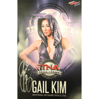 Gail Kim TNA Hall of Fame Colour Photo Personally Signed