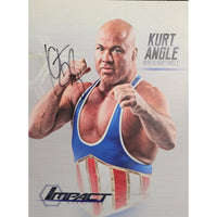 Kurt Angle Photo Personally Signed