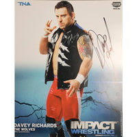 Davey Richards- The Wolves Photo Personally Signed