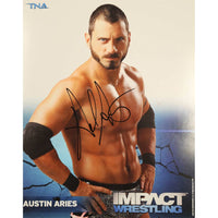 Austin Aries Photo Personally Signed