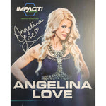 Angelina Love Photo Persomnally Signed