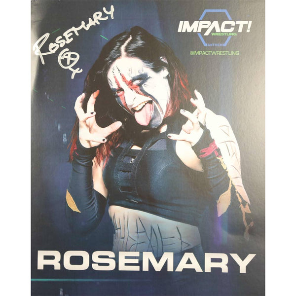 Rosemary Photo Personally Signed