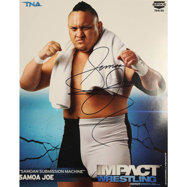 Samoa Joe Photo Personally Signed Photo