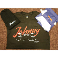 Awesome Exclusive Pack (Johnny T Shirt, Beanie Hat & TNA Scarf) - All Sizes