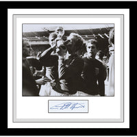 Sir Geoff Hurst Framed & Mounted Photo Personally Signed