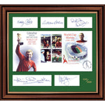 England 1966 World Cup Winners Framed Cover Pers. Signed by 5 of the Team