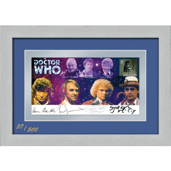 Dr Who Framed & Mounted Special Edition (ED039) Collectors Sheet Print