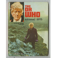 Dr Who Annual Book Personally Signed by Jon Pertwee Rare