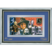 Dr Who Framed First day Cover Personally Signed by Tom Baker