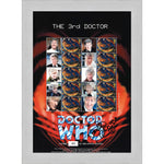 Dr Who 3rd Doctor Customised GB Stamps Sheetlet Pers.Signed by Sean Pertwee