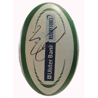 Rugby 6 Nations Ireland v England 2013 official Match Issued Ball Signed by both Captains