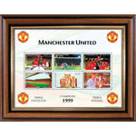 Manchester United Treble Celebration Collectors Stamps Sheetlet
