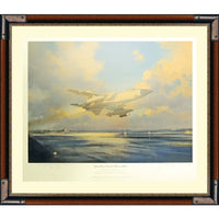 Operation Desert Storm Framed Art Print Personally Signed