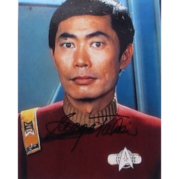 George Takei as Hikaru Sulu Mounted Photo Personally Signed