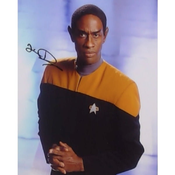 Tim Russ as Tuvok Mounted Colour Photo Personally Signed