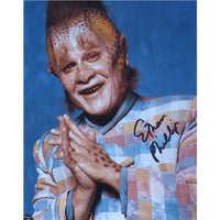 Ethan Phillips as Neelix in Star Trek Voyager Mounted Colour Photo Personally Signed
