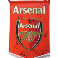 Arsenal FC Multi Signed Official Pennant