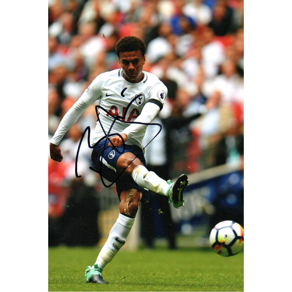 Dele Alli Mounted Personally Signed Photo