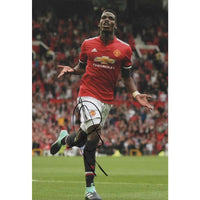 Paul Pogba Mounted Personally Signed Photo