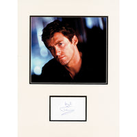 Hugh Jackman Photo & Personal Signature on Album Page