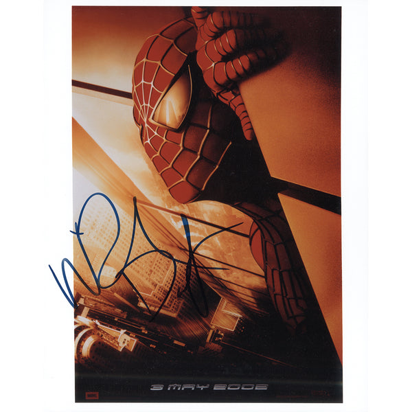 Willem Dafoe as Spiderman Colour Photo Personally Signed
