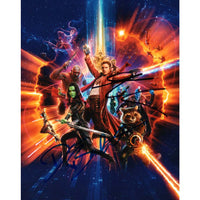 Dave Batista & Karen Gillan Guardians of the Galaxy Photo. Pers. Signred by Both