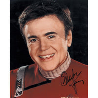 Walter Koenig as Chekov Colour Photo Personally Signed